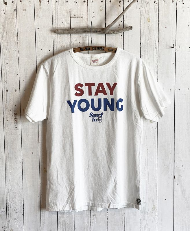 画像1: STAY YOUNG TEE