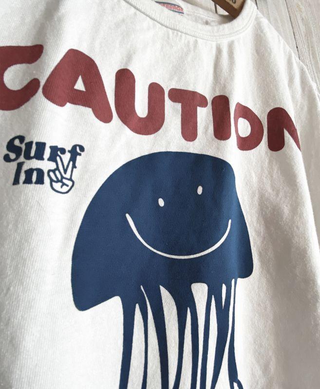 画像2: CAUTION TEE