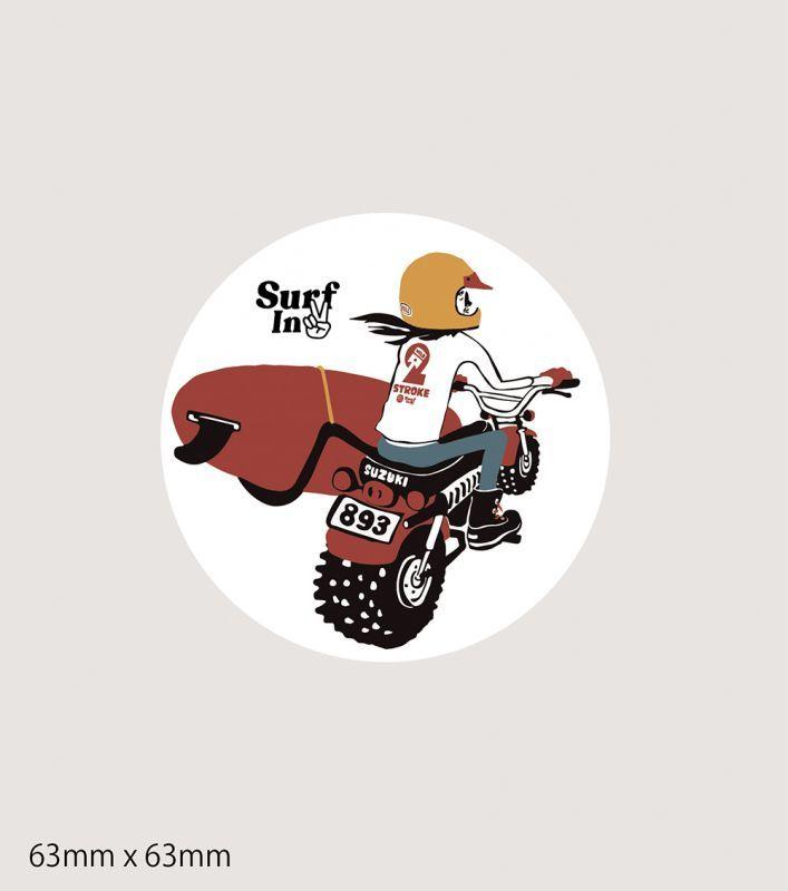 画像1: RIDE MOTOステッカー