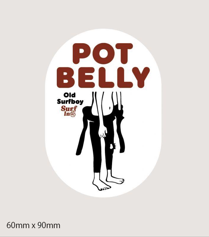 画像1: POT BELLY ステッカー