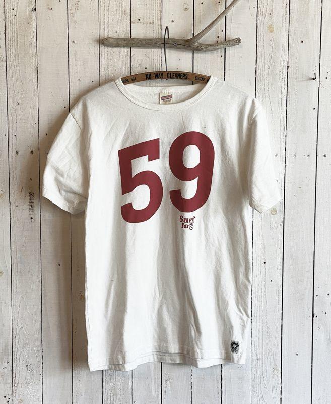 画像1: No.59 TEE / White